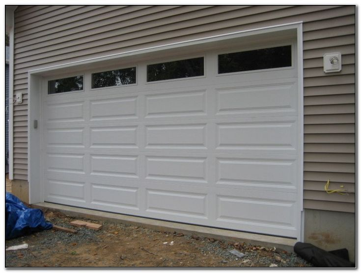 Automatic Garage Door 16x8, How Much Is A 16 X 8 Garage Door