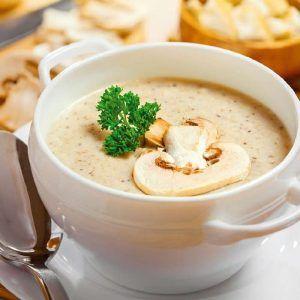 Sanafa partage avec vous la recette ' Velouté de champignons ' , et des recettes du Sud et d'ailleurs