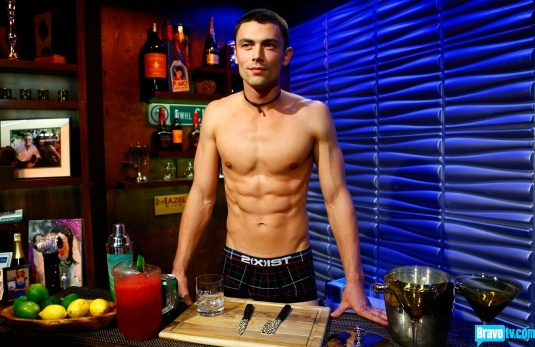 Say hello to Austin Phillips. He was representing 2xist Underwear who donate a majority of their popup shop revenue towards the relief efforts of Hurricane Sandy. Naked for a good cause! Episode 852