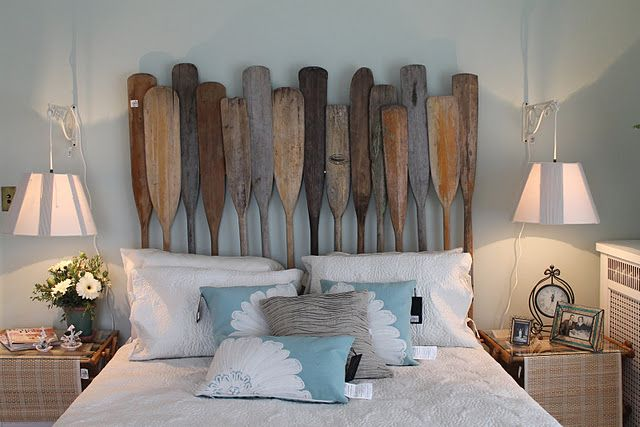 Great idea to hang a light fixture- and the paddles make me smile: Summer Idea, Lakes House, Beaches House, Bachman Summer, Lakes Homes, Cute Idea, Idea House, High Heels, Guest Rooms