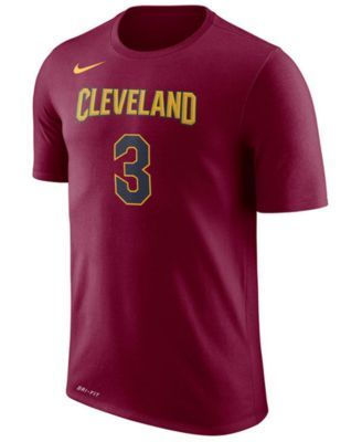Nike Men's Isaiah Thomas Cleveland Cavaliers Name & Number T-Shirt - Red XXL