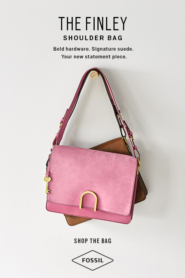 ea9cb7a6345f The Finley shoulder bag comes in both classic and bold colors making it the  perfect accessory to any outfit. Shop the Fossil Finley handbag.