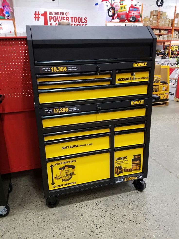 Best looking DeWalt tool box I've seen