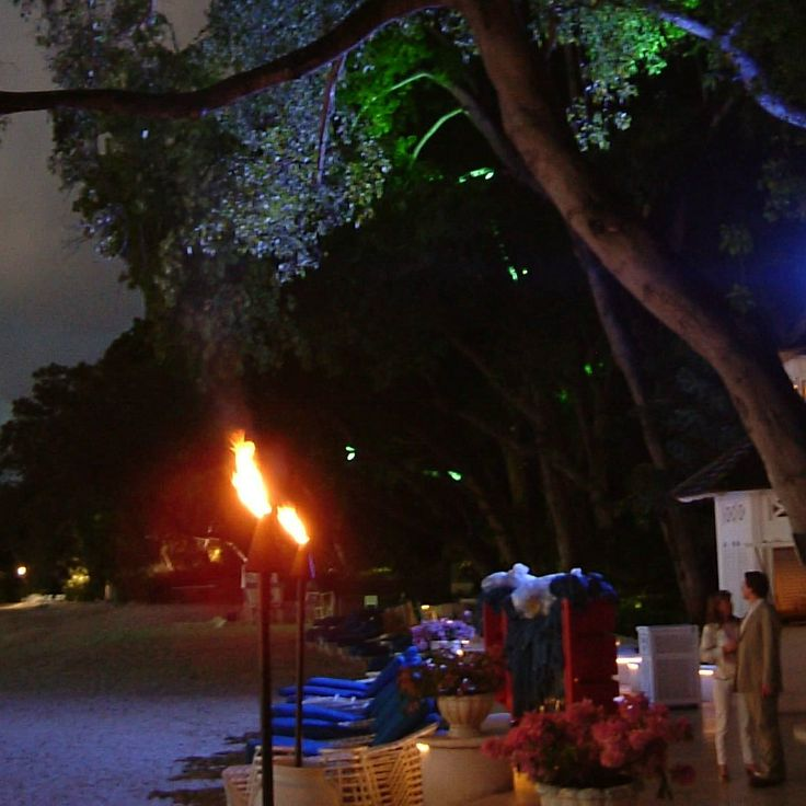 Sandy Lane Hotel, Barbados lighting by Lighting Design International.