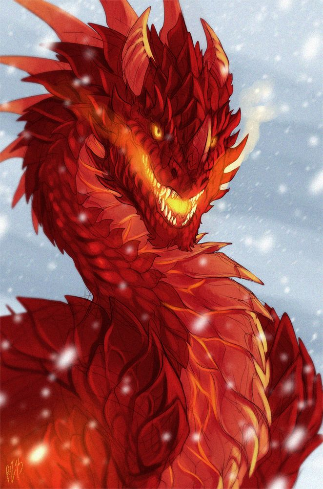 """Dragon Art — not-afurry: """"I am the one who protects all..."""