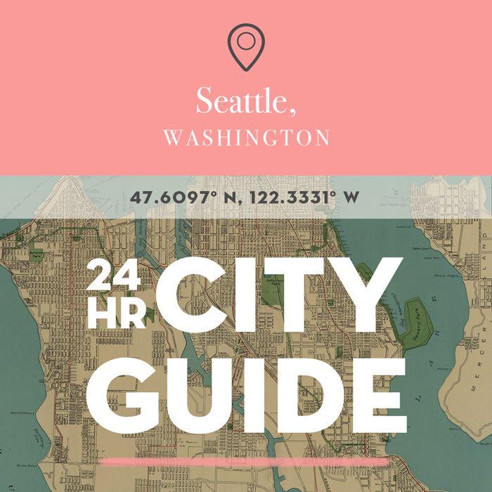 24 Hours in Seattle, WA | Design*Sponge | Bloglovin