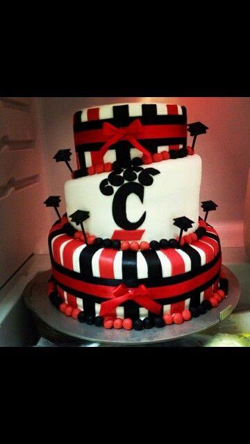 27 best University of Cincinnati Cake UC Bearcats images on