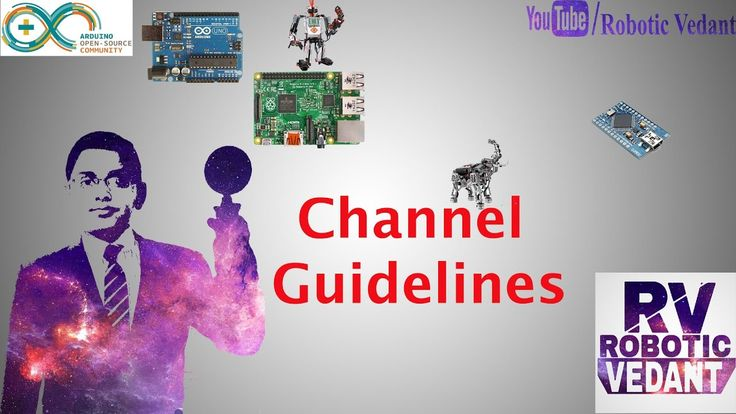The way to go with Robotics:Channel Guidelines