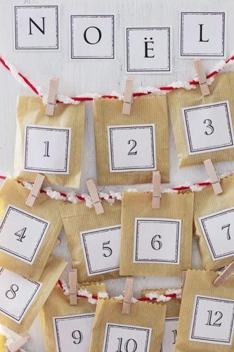 手作りアドベント・カレンダーの作り方|その他|アート・雑貨(印刷用)| 手芸レシピ16,000件!みんなで作る手芸やハンドメイド作品、雑貨の作り方ポータル「アトリエ」