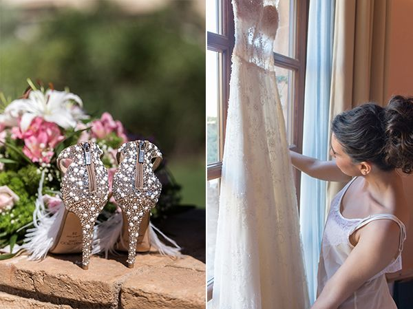 So beautiful bridal shoes ... see full photo collection of this elegant wedding? http://photographergreece.com/…/785-fairytale-wedding-at-ch…  #Phosart #photography #cinematography #weddingphotography #weddingvideos #destinationweddings #marriedingreece