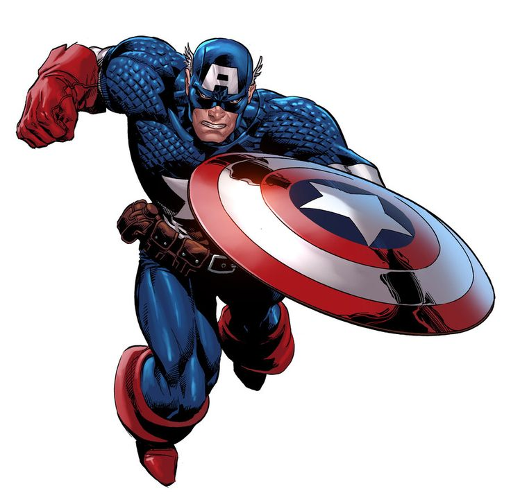 Captain America: Captain America by Mike Deodato Jr. ®