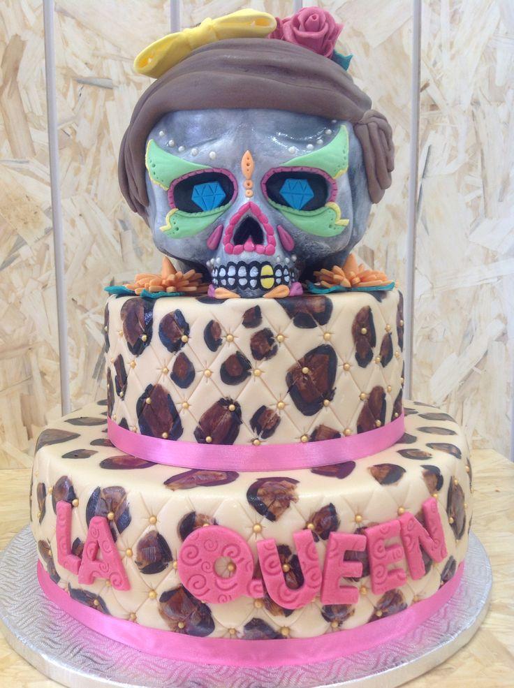 teschio messicano cake