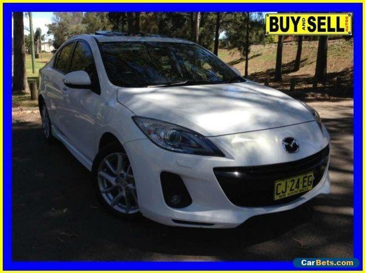 2012 Mazda 3 BL 11 Upgrade SP25 White Automatic 5sp A Sedan #mazda #3 #forsale #australia