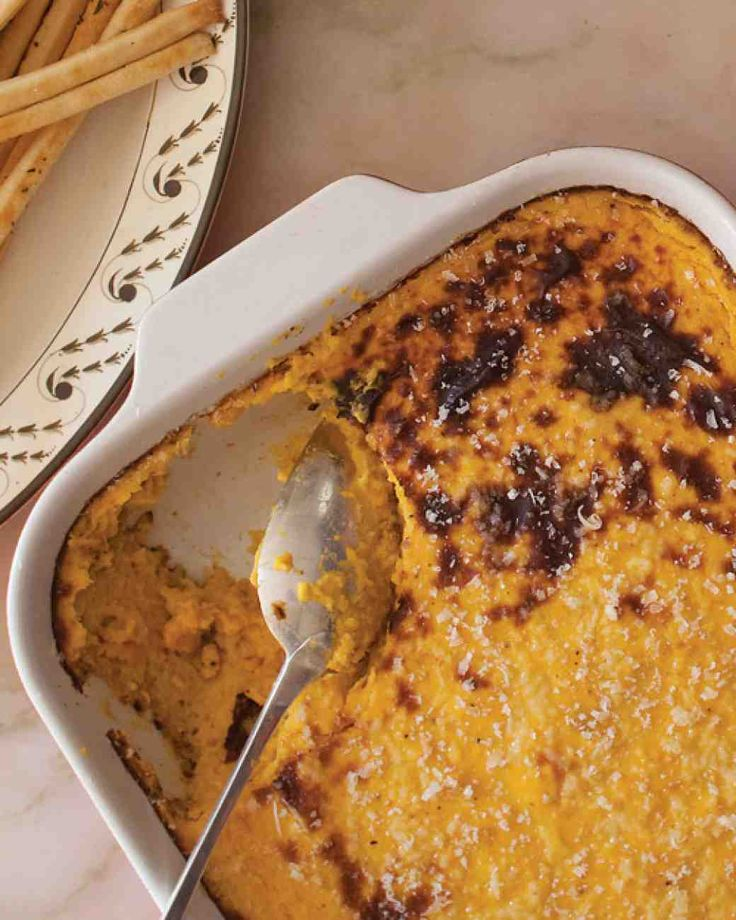 Thanksgiving Potluck Recipes: Butternut Squash Pudding