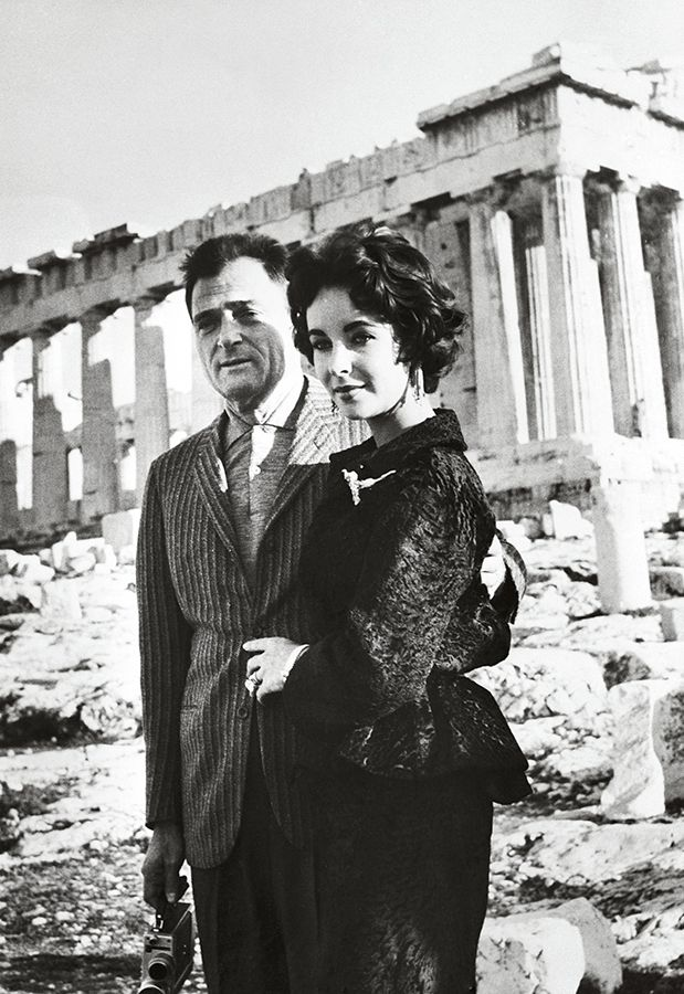 Elizabeth Taylor in Athens , February 1958