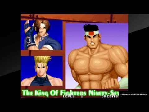 Aca NeoGeo The king of fighters '97 arcade mode Hero team