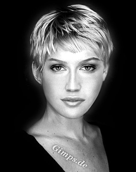 Yes - I'm doing it. I'm cutting my hair this short - in a few weeks!