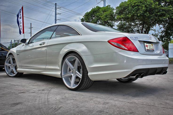 2008 Mercedes CL63 Niche Apex | Flickr - Photo Sharing!