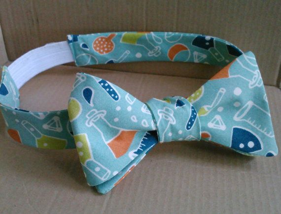 Blinded by Science bow tie by Abandoned Warehouse