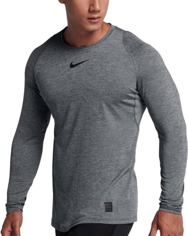 Indipendente pendenza Infornare  Nike Men's Pro Long Sleeve Fitted Shirt in 2020 | Mens workout clothes,  Long sleeve tshirt men, Mens outfits