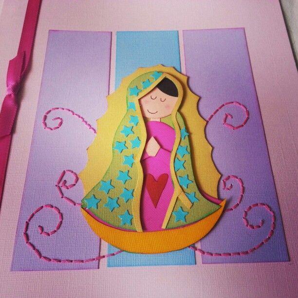 Detalles de tarjetones virgen de Guadalupe