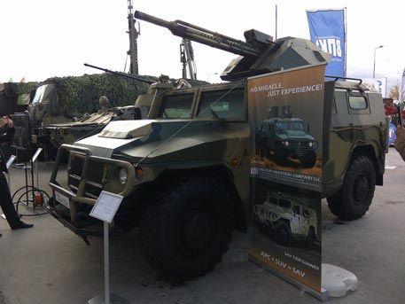 Появились первые фотографии беспилотного бронеавтомобиля «Тигр» - Телеканал…