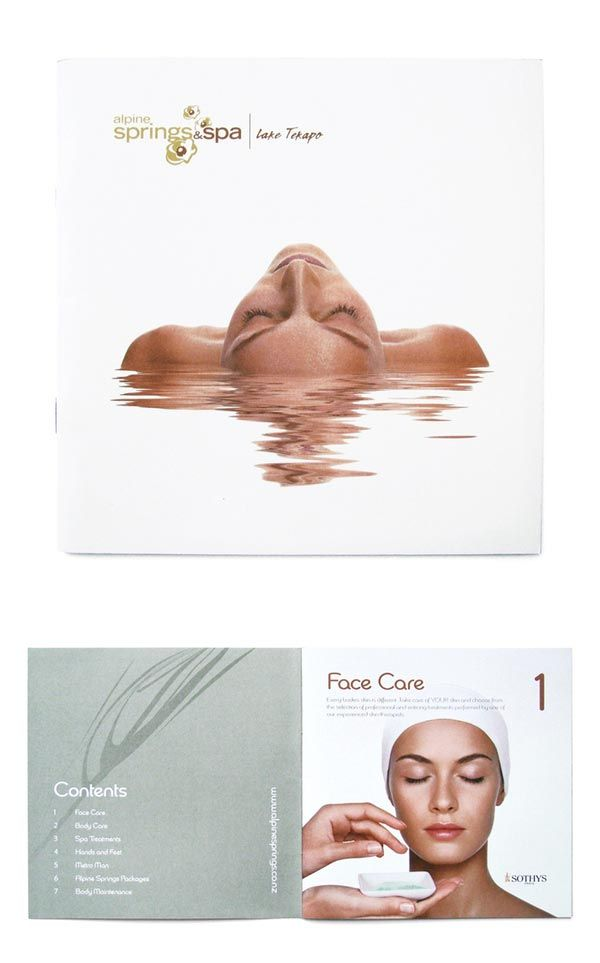 Spa Brochure Design --------------------------- www.Graphicview.net www.facebook.com/Graphicviewlhr