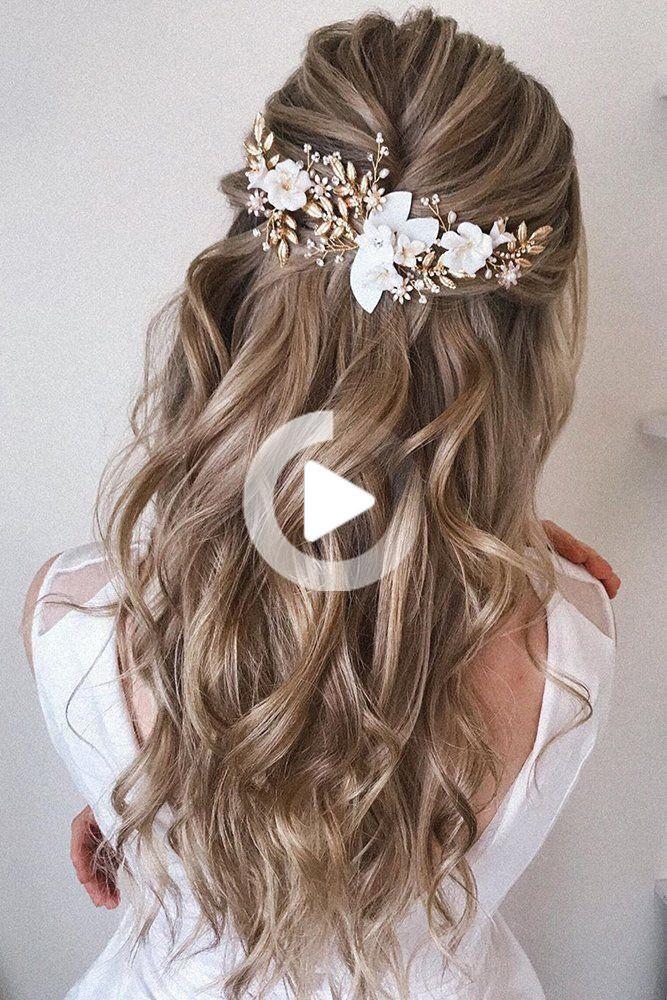 Bruiloft Kapsels Beste Ideeen Voor Het Jaar 2020 Brides Wedding Forward Best Wedding Hairstyle Hochzeitsfrisuren Haar Styling Frisur Hochzeit