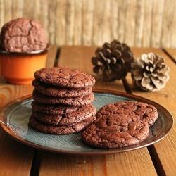 Buttermilk cocoa cookies