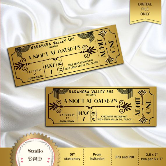 Best 25+ Prom invites ideas on Pinterest Cute prom proposals - prom tickets design