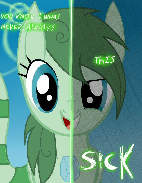 Sickly Shadows Two Sides By Kaiilu On Deviantart Mlp My