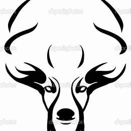 Simple Wood Burning Stencils Deer Head With Images