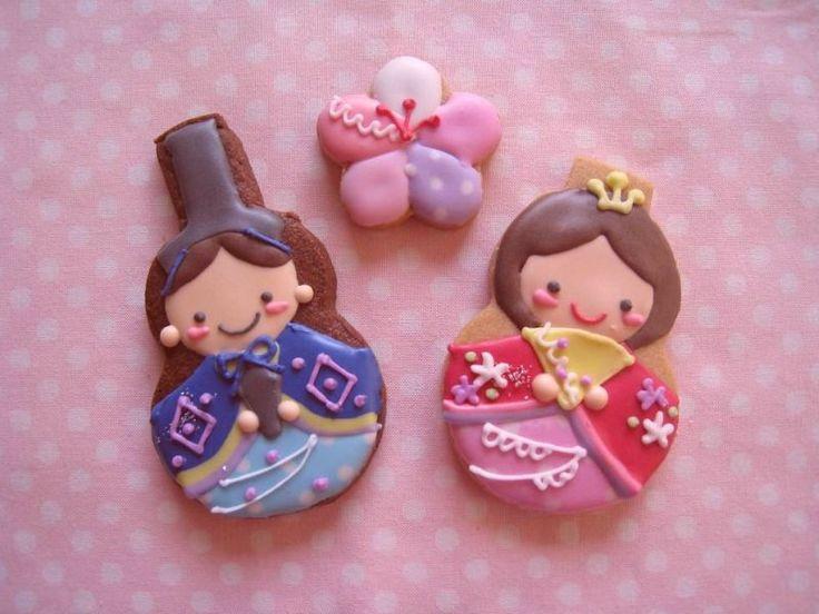 Hina Doll Cookies