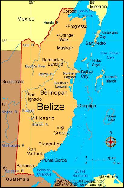 Map of Belize. Capital: Belmopan. Languages: English (official), Spanish, Mayan, Garifuna (Carib), Creole Ethnicity/race: mestizo 48.7%, Creole 24.9%, Maya 10.6%, Garifuna 6.1%, other 9.7%.