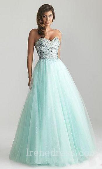 Elegant Sleeveless Empire Long Evening Dresses In Stock irene32834