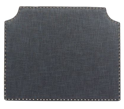Shop at DormCo for High Impact Dorm Room Decorations such as our The Powered College Headboard - Charcoal. This dorm essentials item covers the unsightly backboard wood of a headboard and allows you to use as is or add your own fabrics and accent pieces f