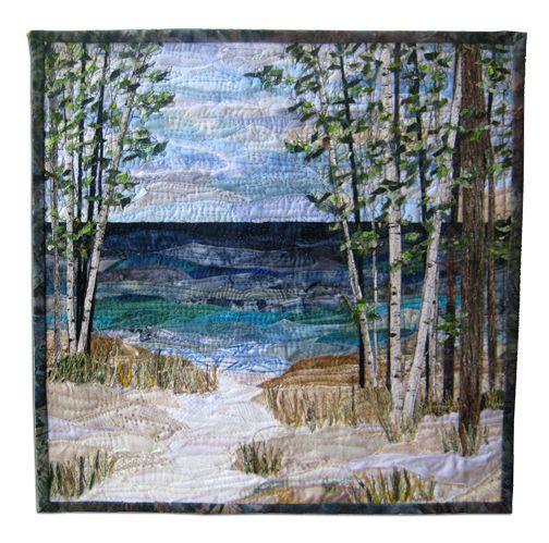 Lake Collage by Ann Loveless