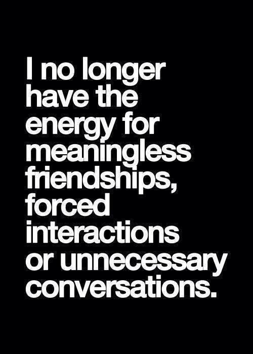 no bullshit Time - Friendship Quotes