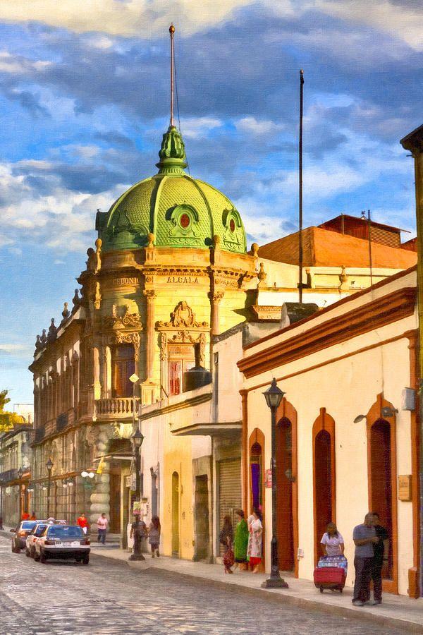 Oaxaca Mexico TEATRO MACEDONIO ALCALA
