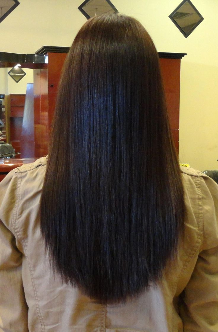 #Yuko, One of the #Best #quality of permanent #Japanese hair straightening, at…