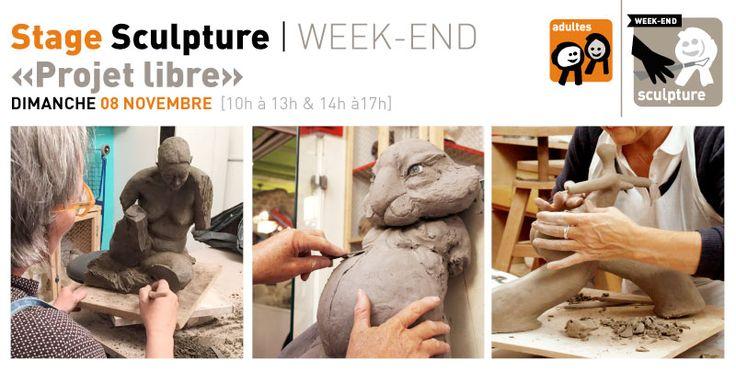 Rrose selavy » Stage Sculpture-Modelage WE   dimanche 08 novembre