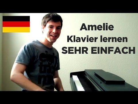 Klavier lernen: Die fabelhafte Welt der Amelie – Teil 1 (einfaches Piano Tutorial) – YouTube – Anni