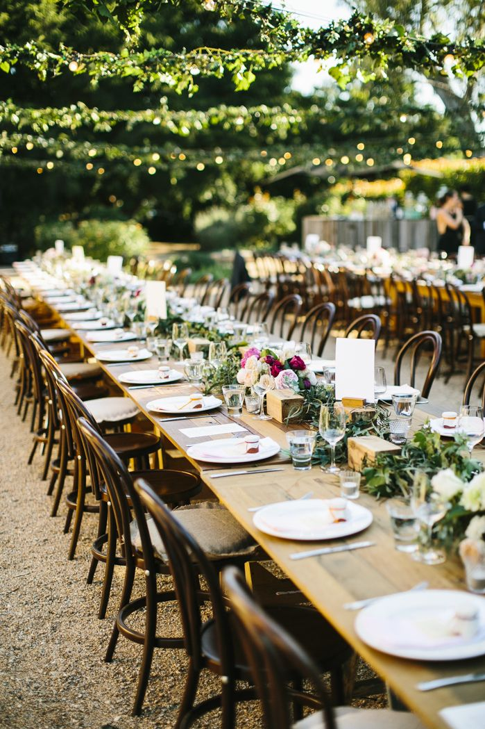 Gorgeous outdoor setting at Euroa Butter Factory wedding