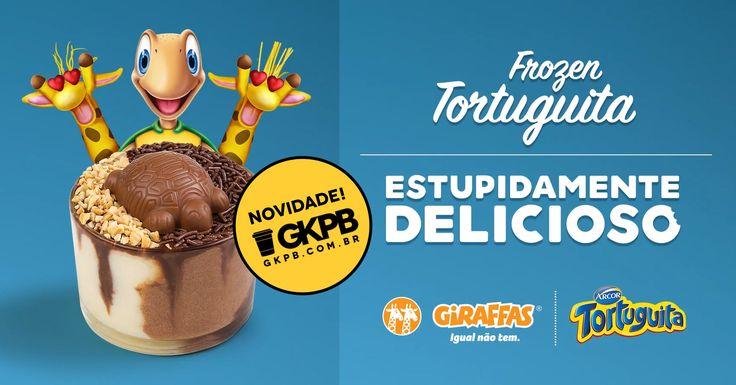 Giraffas e Arcor lançam Frozen Tortuguita