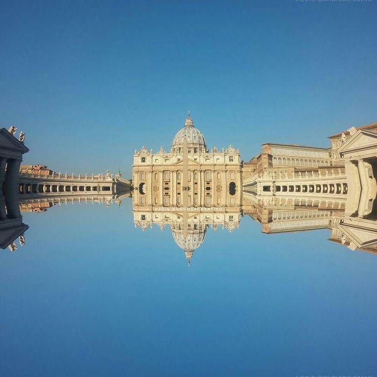 Come sospesi in una mattina d'autunno #BuongiornoRoma #igersroma #i #visit_lazio #VisitRome #Roma #vatican