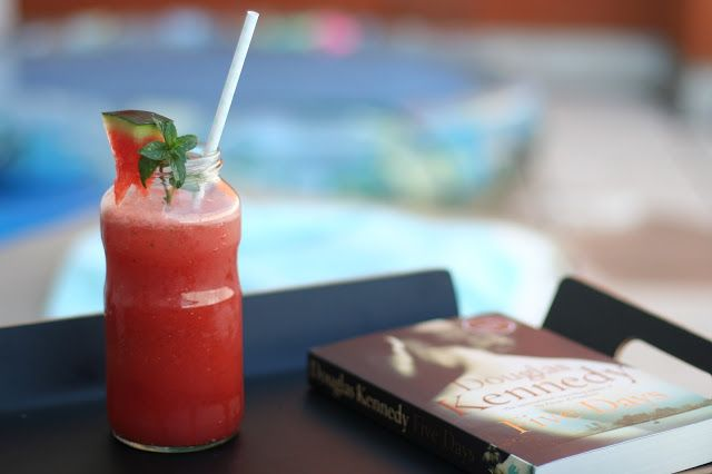 Watermelon and rum drink Miss Marie