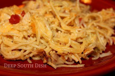 Chicken and Spaghetti Casserole Recipe on Yummly. @yummly #recipe