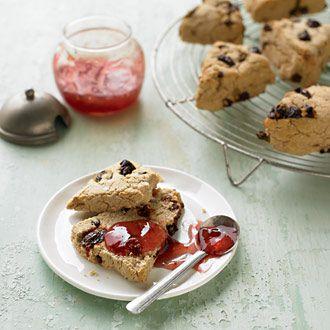 Cinnamon cherry scones