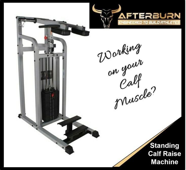 Standing Calf Raise Machine Gym Fitness Workout Gymequipment Standing Calf Raise Calf Raises Calf Muscles