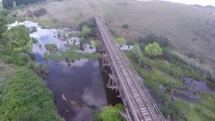 Rail Bridge over the Breadbo river.  Continued use of the rails as rail trails will ensure that our heritage is maintained for generations to come.